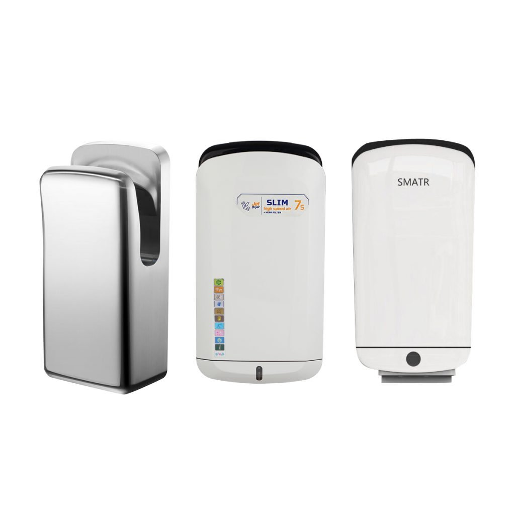 PW-1,2,3 double side jet hand dryer